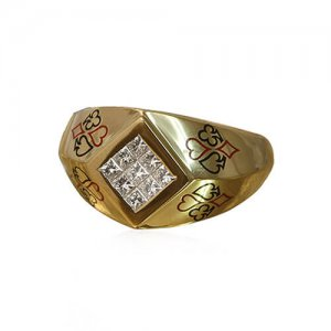 THE GLOBE RING - Front