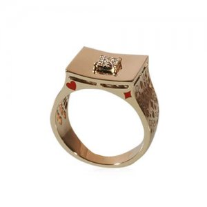 DEALER'S CHOICE RING