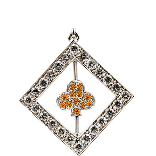 CELEBRITY DIAMOND_orange