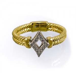A Diamonds of Diamonds ring