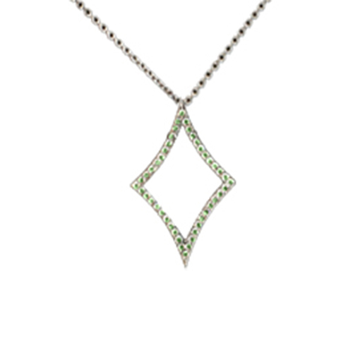 DIAMOND PENDANT_green