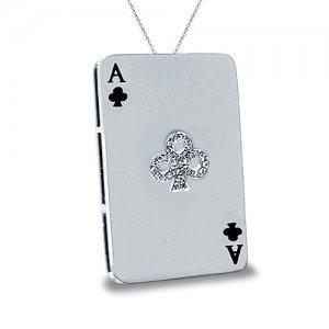 AN ACE OF A PENDANT - Spade